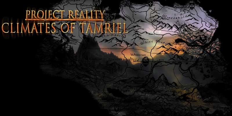 Climates Of Tamriel – Weather – Lighting – Audio