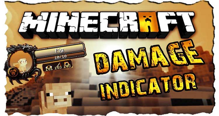 ToroCraft's Damage Indicators Mod 1.14.4/1.12.2