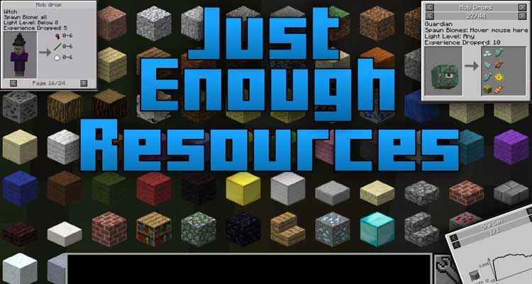 Just Enough Items Mod 1.14.4/1.12.2 – JEI, Item and Recipe Viewing