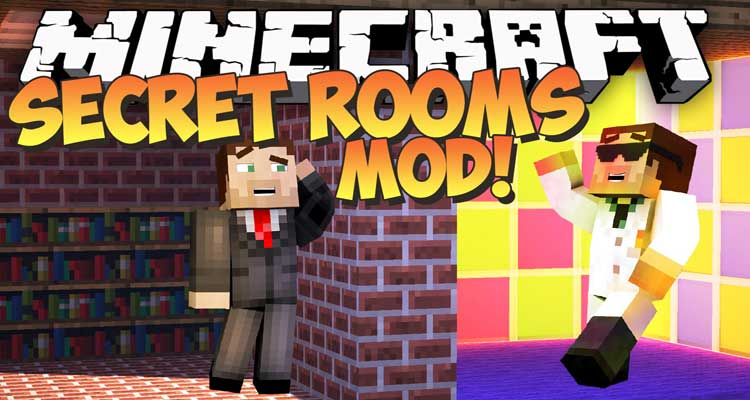 Secret Rooms Mod 1.14.4/1.12.2 – DiscoverTrayaurus' Secrets