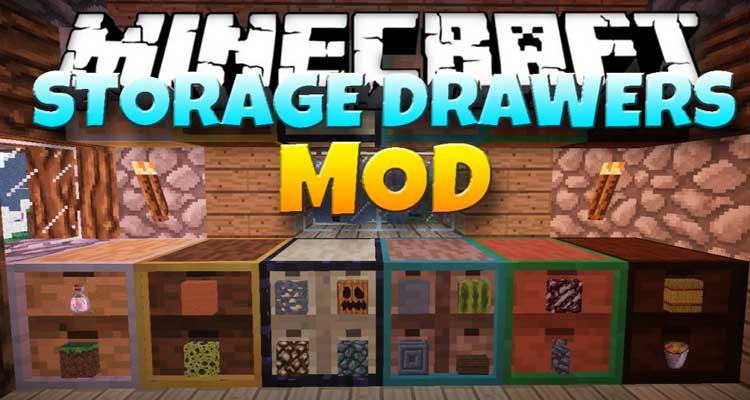 Storage Drawers Mod 1.14.4/1.12.2 – Store Hundreds of Items