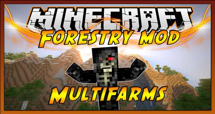 Forestry Mod 1.12.2/1.11.2 (Farms, Trees, Bees and more)
