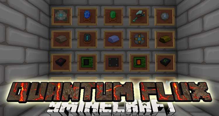 QuantumFlux Mod 1.12.2/1.11.2 (Wireless RF for Minecraft)
