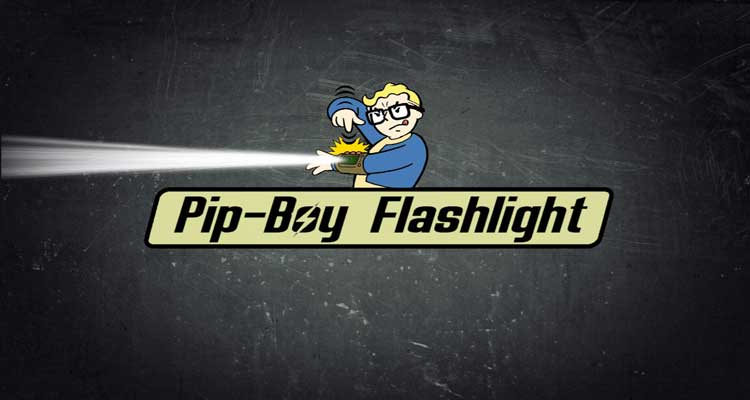 Pip-Boy Flashlight (Pipboy – Power Armor – Lamp Overhaul)