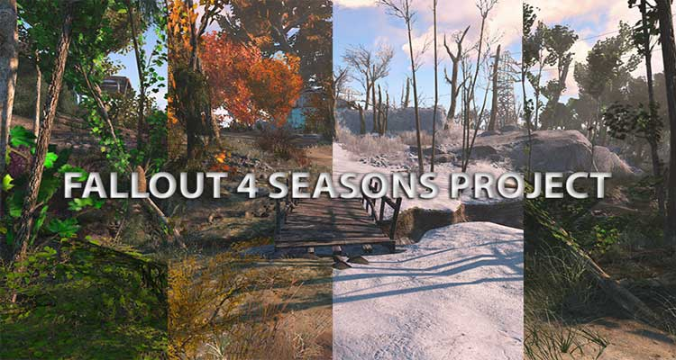Fallout 4 Seasons – Grass – Trees – Plants – Snow