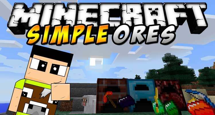 SimpleOres Mod 1.14.4/1.12.2 – New Alloy Ingots and Items