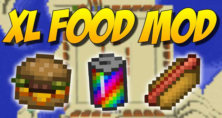 XL Food Mod 1.14.4/1.12.2 – New Crops and Foods For Minecraft