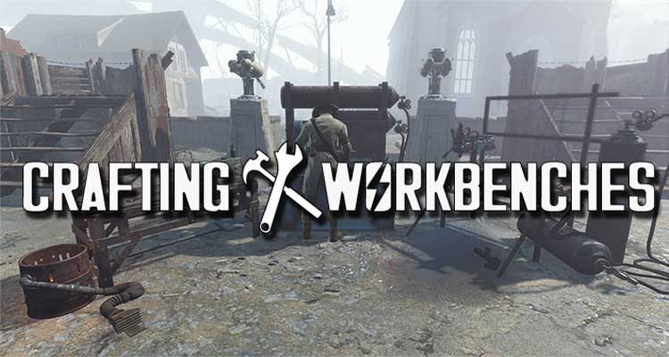 Crafting Workbenches – Craftable Weapons Armor Clothing Ammo Junk