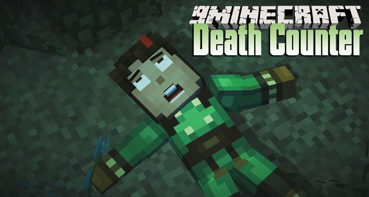 Death Counter Mod 1.14.4/1.12.2 – Calculate The Number of Deaths For Minecraft