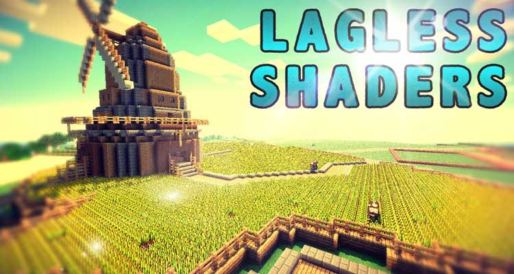 Lagless Shaders Mod 1.14.4/1.12.2 – Realistic Water, Grass For Minecraft