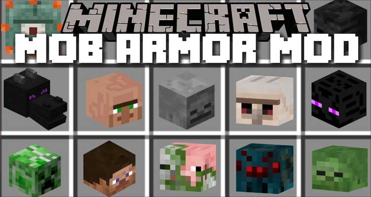 Mob Armor Mod 1.12.2/1.8.9 – Turn Into Mobs, Gain Their Abilities For Minecraft