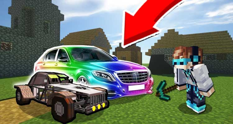 Ultimate Car Mod 1.14.4/1.12.2 – Design Your Own Streets and Be Creative For Minecraft
