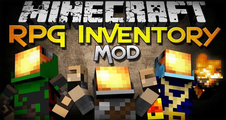 Rpg Inventory Mod 1.12.2/1.11.2 – ClassArmors, Necklaces