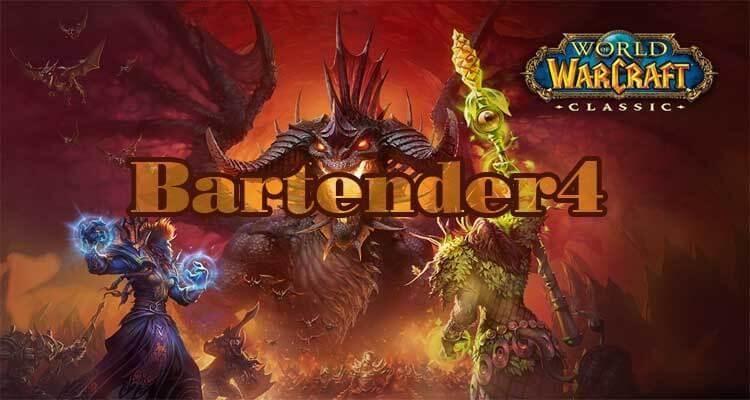 Bartender4 WOW Addon 1.13.3/8.3.0/8.2.0