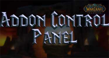 Addon Control Panel WOW Addon 8.3.0/8.2.0/8.0.0