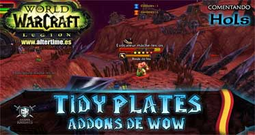 Tidy Plates WOW Addon 8.3.0/8.2.0/8.0.0