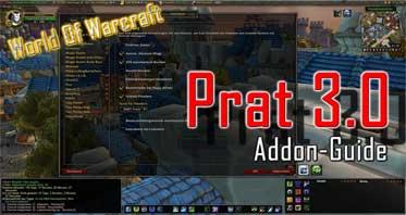 Prat 3.0 WOW Addon 1.13.2/8.3.0/8.2.0