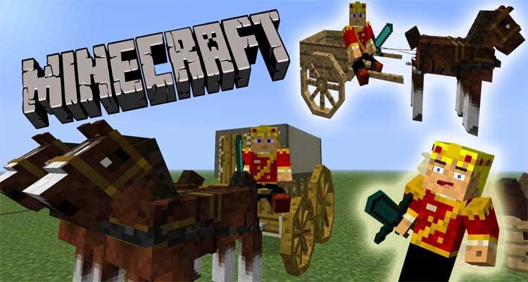 Horse Carts Mod
