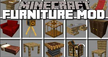 Mr.Crayfish's Furniture Mod 1.14.4/1.12.2