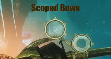 Scoped Bows