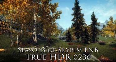 Seasons of Skyrim ENB True HDR