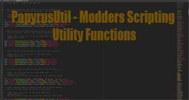 PapyrusUtil – Modders Scripting Utility Functions