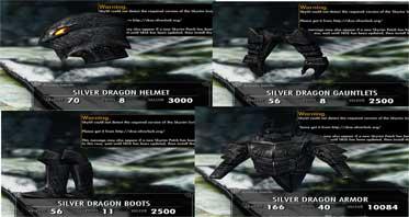 Silver Dragon Armor