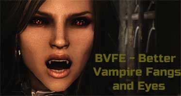 BVFE – Better Vampire Fangs and Eyes
