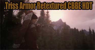 Triss Armor Retextured CBBE HDT