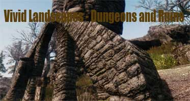 Vivid Landscapes – Dungeons and Ruins