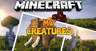 Mo'Creatures Mod 1.12.2/1.10.2 – Animals, Monster Mobs