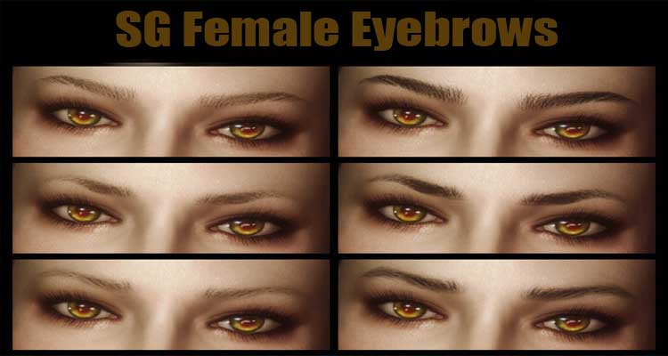 SG Female Eyebrows