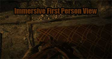 Immersive First Person View