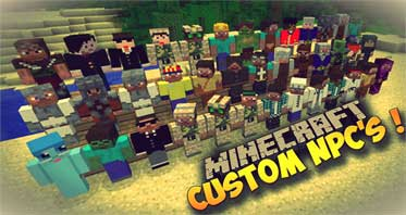 Custom NPCs Mod 1.12.2/1.11.2 – Make Your Own NPCs