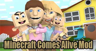 Minecraft Comes Alive Mod 1.12.2/1.10.2 – The SIMS in Minecraft