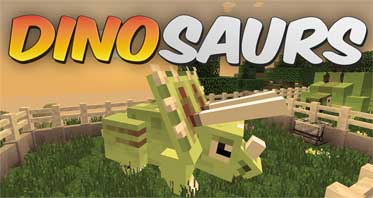 Fossils and Archeology Revival Mod 1.12.2/1.7.10 – Dinosaurs