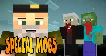 Special Mobs Mod 1.12.2/1.7.10 – 100+ Mob Variations