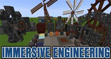 Immersive Engineering Mod 1.12.2/1.11.2 – Redstone Flux Based Machinery