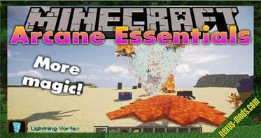 Arcane Essentials (Electroblob's Wizardry) Mod 1.12.2