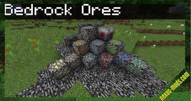 Bedrock Ores Mod 1.12.2/1.11.2/1.10.2
