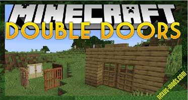 Double Doors Mod 1.16.3/1.15.2/1.12.2