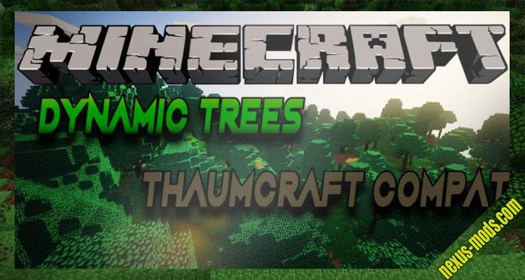 Dynamic Trees - Thaumcraft Compat