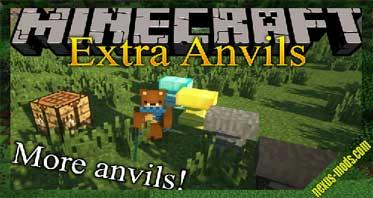 Extra Anvils Mod 1.16.2/1.15.2/1.12.2