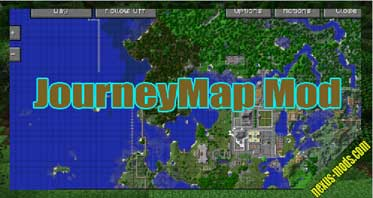JourneyMap Mod 1.12.2/1.7.10 – Real Time Mapping
