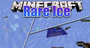 Rare Ice (Forge/Fabric) Mod 1.16.3/1.15.2/1.12.2