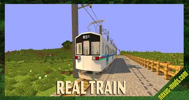 Real Train Mod 1.12.2/1.10.2 – Realistic Japanese Style Railways