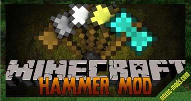 Sparks Hammers Mod 1.12.2/1.10.2/1.7.10