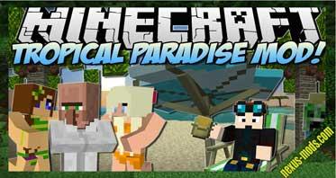 Tropicraft Mod 1.12.2/1.10.2 – Tropical Paradise, Let's Go On Holidays