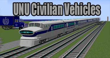 UNU Civilian Vehicles [MTS/IV] [IR] (cars trucks planes trains) Mod 1.12.2/1.11.2/1.10.2
