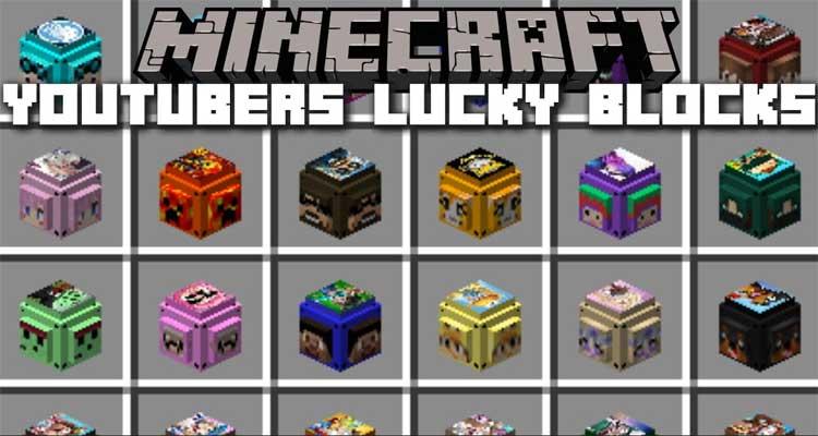 Youtuber's Lucky Blocks